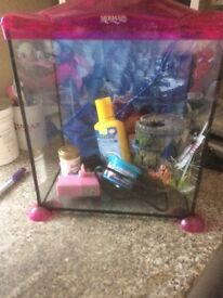 Children's mermaid fish tank