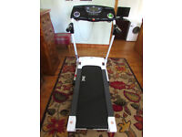 Everlast EV7000 Treadmill *ASSEMBLED ** RRP £599 NEW+ Handbook CAN DELIVER 20 MILE RADIUS OF CARDIFF