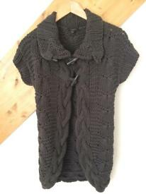 Ted baker brown thick knitted cardigan 3 (12)