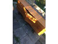 6ft old vintage sideboard