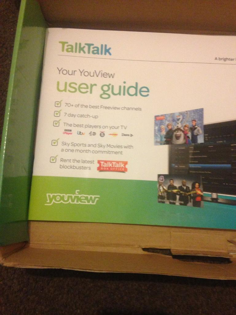 Huwaei Dn360t Talktalk Youview Box In Leicester Leicestershire