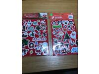 Christmas 3D stickers