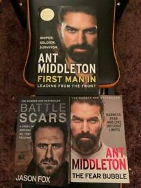 Ant middleton / Jason fox books