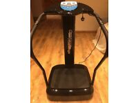 Bluefin Fitness 2017 Vibration Plate with Built-in Speakers Vibro Plate