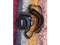Nikon d3100 SLR camera with 18-55mm lens