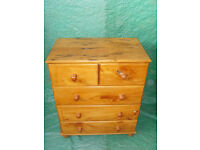 African Yellow Wood Chest of draws £80