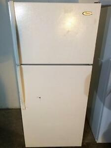 Whirlpool White Fridge, FREE WARRANTY