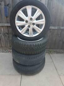 Toyota Yaris genuine 15 inch Alloy wheels