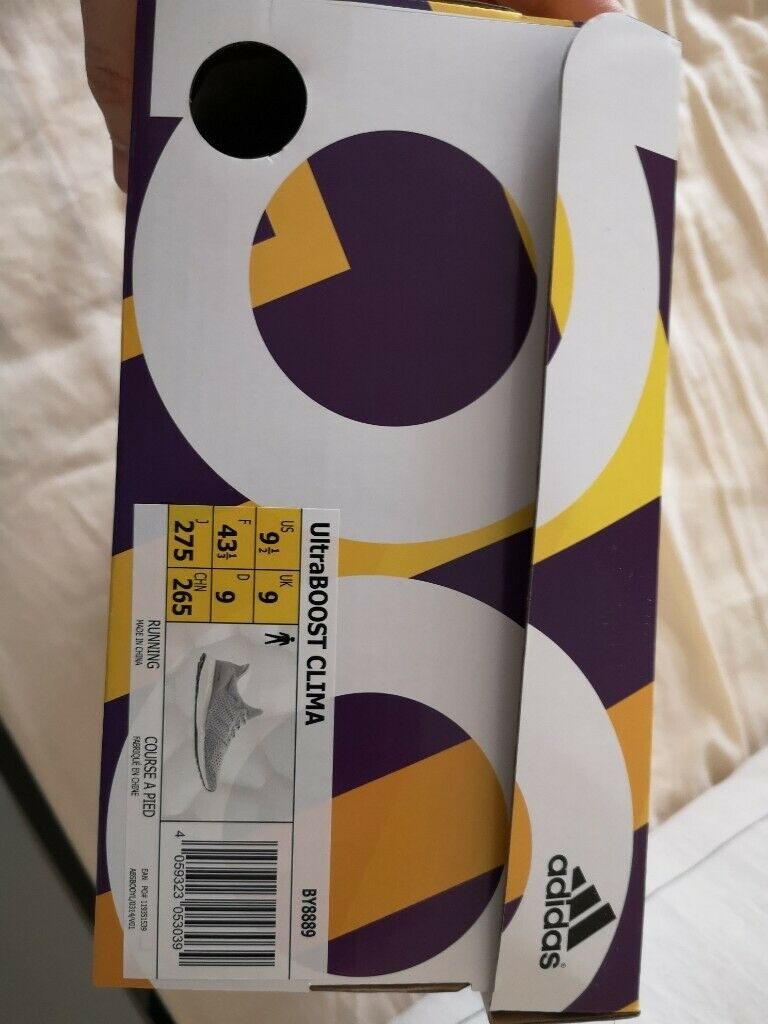 5a7653a498ca2 For sale almost new size 9 Adidas ultra boost clima