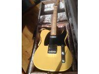 Fender Roadworn Telecaster Butterscotch Electric Guitar