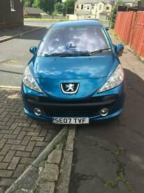 For sale or swap Peugeot 207