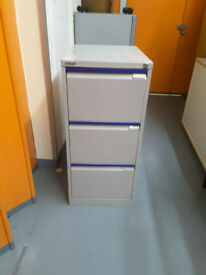 Bisley metal filling cabinet