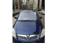 Zafira 1.7 ecoflex CDti elite 61000 miles £4000 leathers pco uber registered