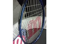 Quality Tennis Racquet in Great Condition and with Case