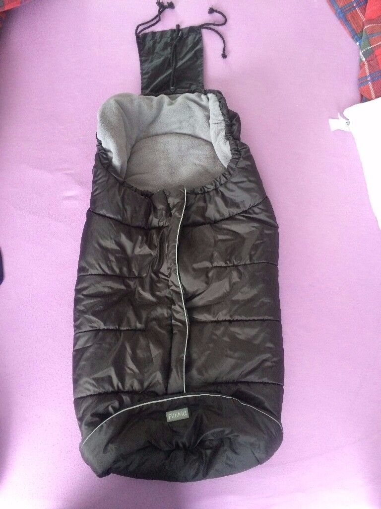 Fillikid universal puschair / pram / stroller thick winter footmuff