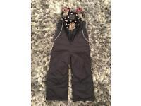 BNWT. Next. Girls Snow Pants. Age 7-8. £10.