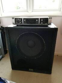 Bass Peavey Tour 450 head and cab