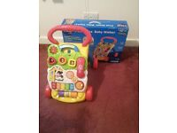 First steps baby waker vtech nearly new