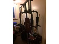 Mini Gym Cheap as lay in garage a wile