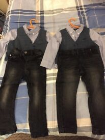 Twin jeans from Next. smoke/pet free home. Immaculate condition.