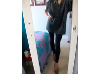 Sexy Long Designer jumper size 8 XS VERY GOOD CONDITION ~CASH ONLY IN PERSON LONDON SE16 7DX~