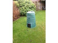 Garden compost machine