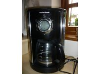 Morphy Richards Coffee Machine - Do not need filters - use any coffee granules