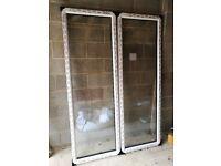 "PVC WINDOWS AND FRAME BRAND NEW ""SEHBAC"" 650 X 2100MM EACH"