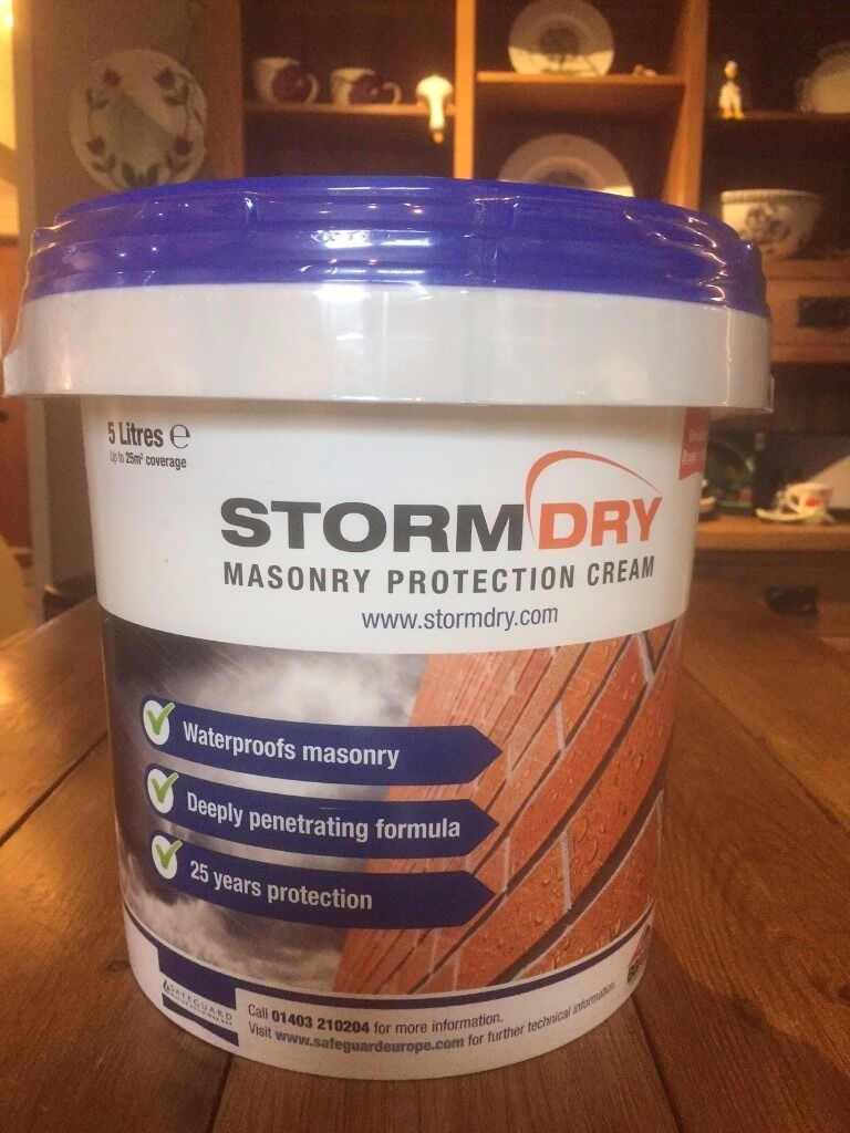 Stormdry Masory Protection Cream 5L