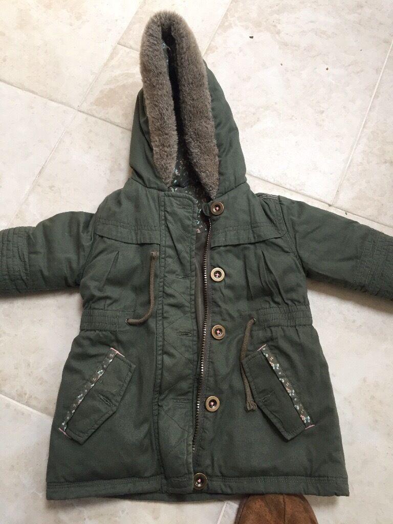 Girls coat age 2-3