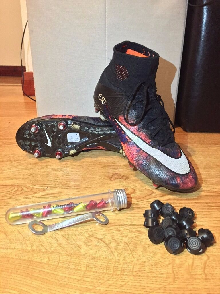 brand new 99acc 50e5b sale nike mercurial superfly iv cr7 savage beauty uk 8.5 sg football soccer  boots 8340c 45a8d