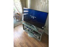 Modern Swivel TV Stand