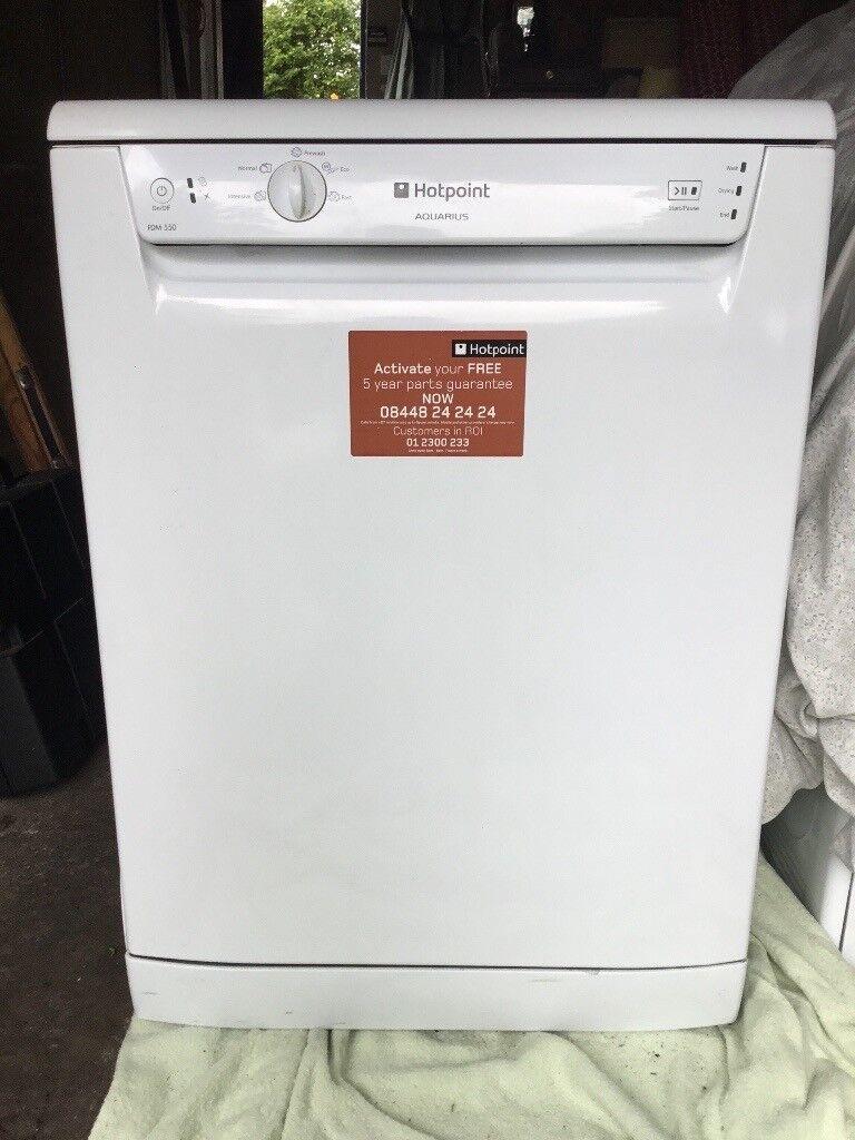 Hotpoint Aquarius. Dishwasher. Spares or Repair. Wont heat waterin County  Antrim - Hotpoint