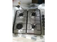 NEW Neue 60cm Gas Hob stainless steel