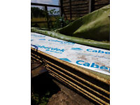 CaberDek T&G waterproof chipboard flooring 2400x600x22 sheets