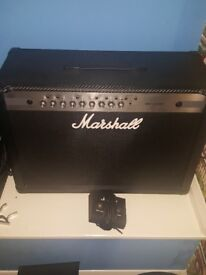Marshall MG102 CFX Amplifier with foot pedal. Excellent condition. Hardly used.