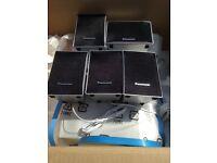 Panasonic surround sound speakers brand-new never used
