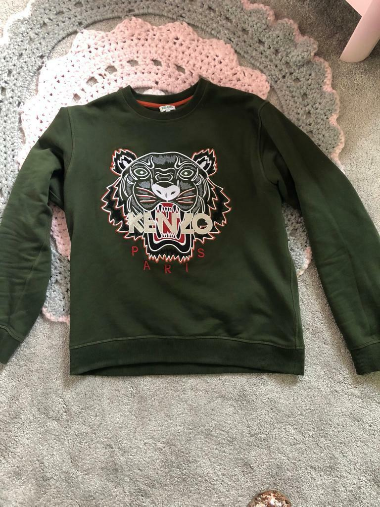 0887fb64 Authentic men's Kenzo sweatshirt khaki | in Bristol City Centre, Bristol ...