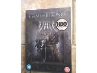 game of thrones dvd box set 1st season brand new in wrapper