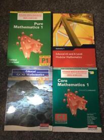 Maths study books
