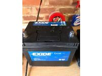 Exide Excell EB604 Car Battery