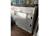 **BARGAIN** DISHWASHER INTERGRATED