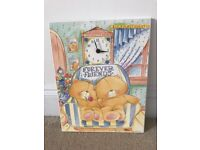 Forever Friends wall clock