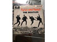 """The Beatles Twist and shout 1st press 7"""" single EP"""