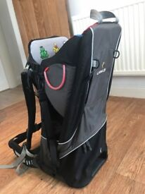 Littlelife Cross Country Baby/Child Carrier Backpack with Sun Shade
