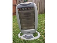 Supawarm 800W electric heater, turns