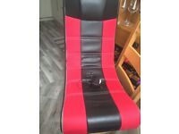 PS3 console, Gaming Chair, 2 x controllers, Steering wheel and lots of games