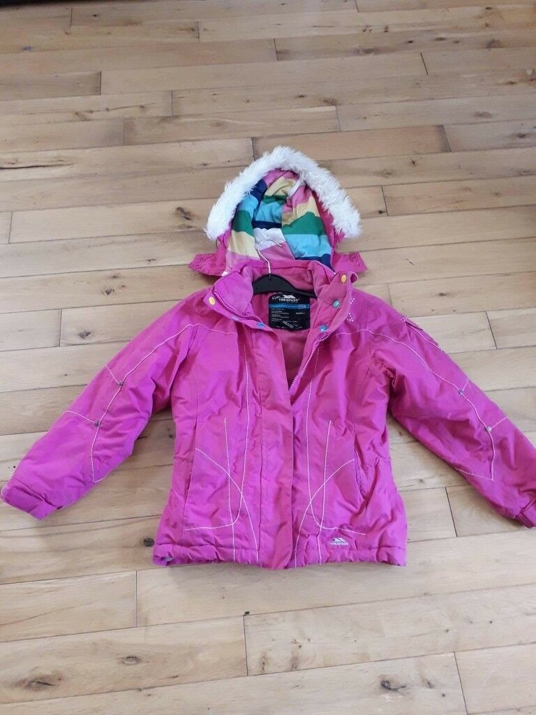 Trespass Girls ski Jacket age 7-8  2d294b800