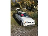 NISSAN MICRA 1.0 AUTOMATIC 2001 37,000mls service A1 CONDITION 07516580220