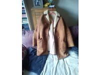 Sheepskin coat for sale